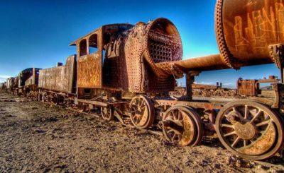 Treno abbandonato