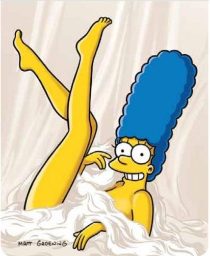 Marge Simpson sesso video