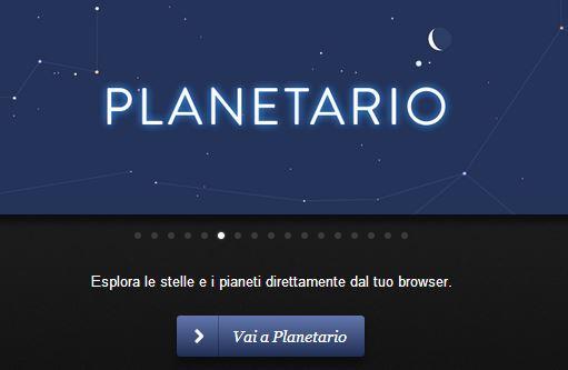 Planetario interattivo di Paul Neave