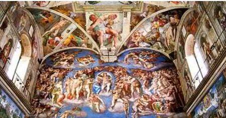 Spettacolare visita virtuale della Cappella Sistina