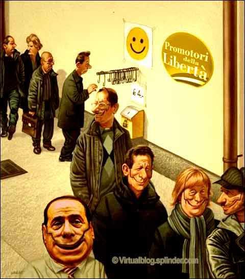 Berlusconi sorriso