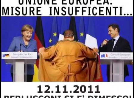 Misure insufficienti, Berlusconi si è dimesso (vignetta)