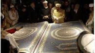Il più grande esemplare al mondo del Corano, recentemente presentato a Kabul, in Afghanistan, è stato faticosamente creato in cinque lunghissimi anni, dal calligrafo Mohammed Sabir Khedri, insieme a nove suoi collaboratori. L'imponente progetto è stato realizzato da Khedri nel tentativo di dimostrare che le ricche tradizioni e il patrimonio […]