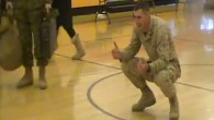 I familiari dei militari, a volte sono sorpresi quando vedono una persona cara tornare a casa dalla guerra. In questo video è il marine Jeremy Cooney, tornato a casa dall'Afghanistan, a ricevere la più piacevole delle sorprese nel vedere il figlio di sei anni, colpito da paralisi cerebrale, camminare verso […]