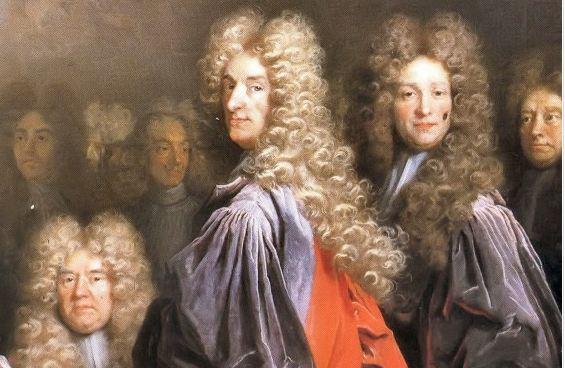Perché gli uomini portavano le parrucche incipriate?