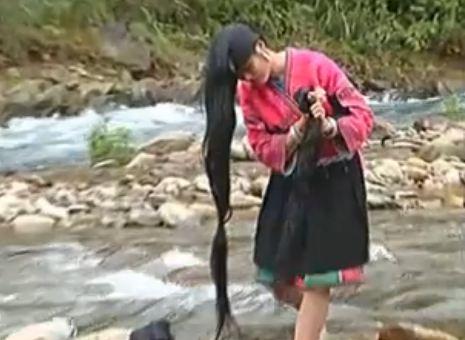 Huangluo, Yao Red, donne con i capelli più lunghi del mondo