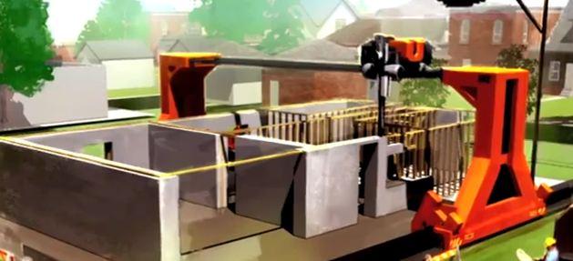 Stampante 3d pu costruire una casa in 20 ore video for Prestito per costruire una casa