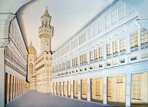 Edifici in carta dell'architetto Christina Lihan