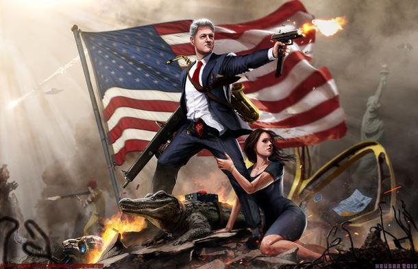Bill Clinton the Lady Killer, clicca per ingrandire