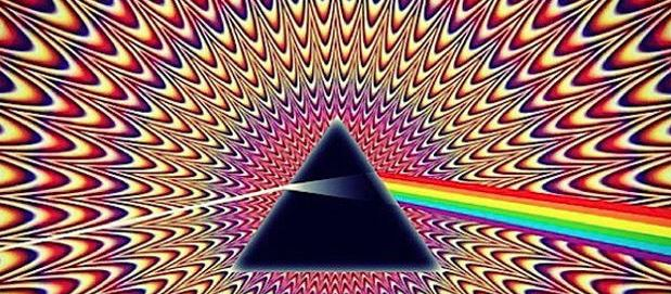 Facebook mi piace Dark Side dei Pink Floyd