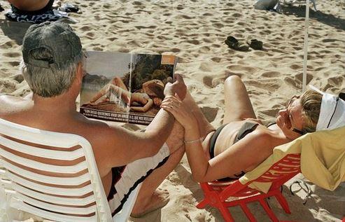 Martin Parr - La vita è una spiaggia (foto)