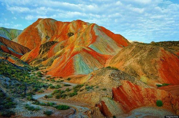 Parco Geologico Zhangye Danxia a Xina in Cina