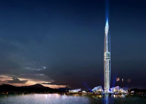Infinity Tower Corea del Sud