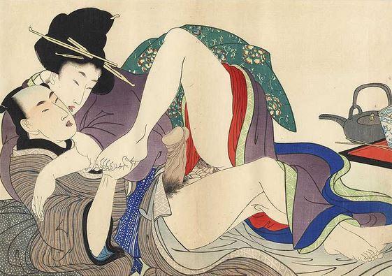 Shunga il sesso e il piacere dell'arte giapponese