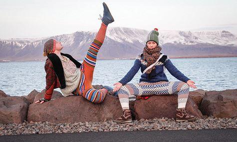 Swants maglioni riciclati in pantaloni