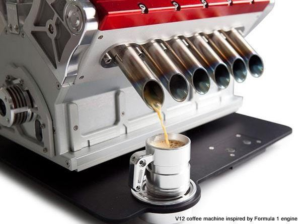 Ecco la pi bella macchina da caff espresso del mondo - Macchina del caffe bar ...