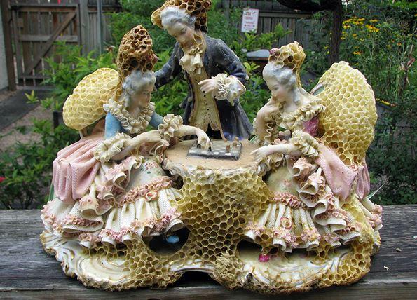 Aganetha Dyck scultura in collaborazione con le api - clicca l'immagine per vedere altre foto