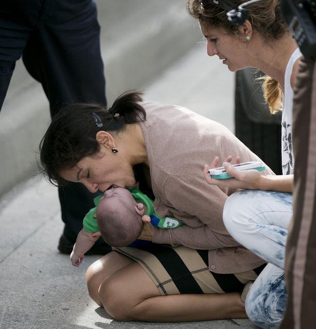 Pamela Rauseo salva il nipote con la respirazione bocca a bocca (clicca la foto per vedere altre immagini)
