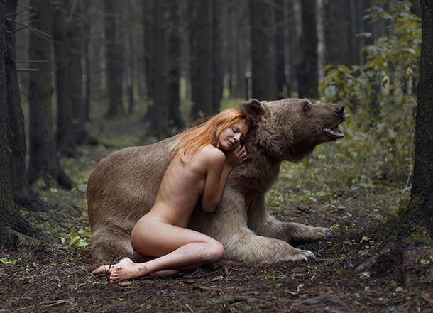 Katerina Plotnikova ritratti mozzafiato con animali reali. Clicca l'immagine per vedere altre foto