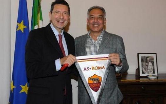 Marino e Pallotta, nuovo stadio della Roma
