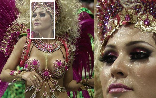 Musa Carnevale di Rio de Janeiro