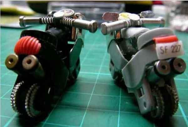 Moto in miniatura
