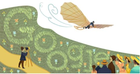 Doodle Otto Lilienthal