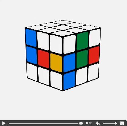 Google Instagram - cubo