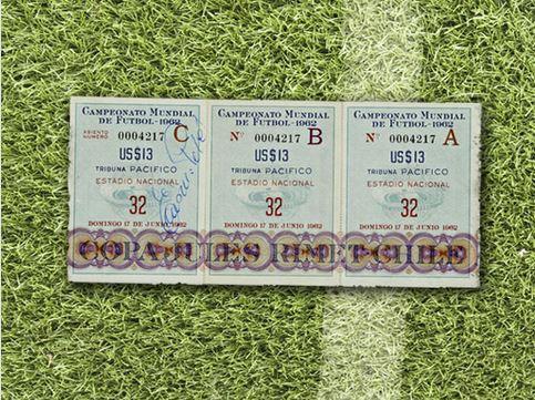 Biglietti della Coppa del Mondo di Calcio in rassegna dal 1930 al 2010 (foto)