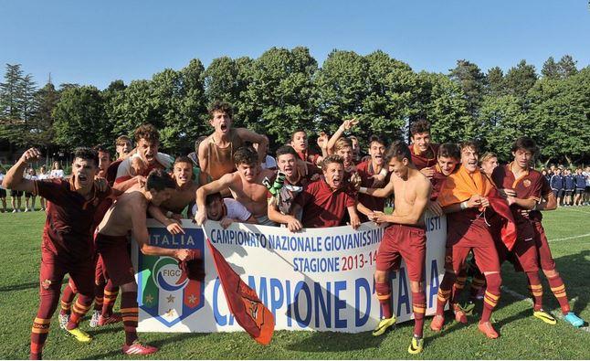 Giovanissimi Nazionali Roma Campioni d'Italia