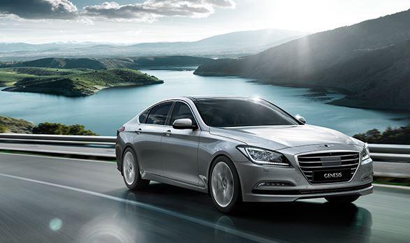 Hyundai Genesis autovelox