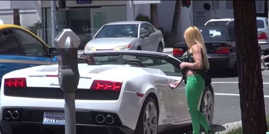 Lamborghini fascino del rimorchio