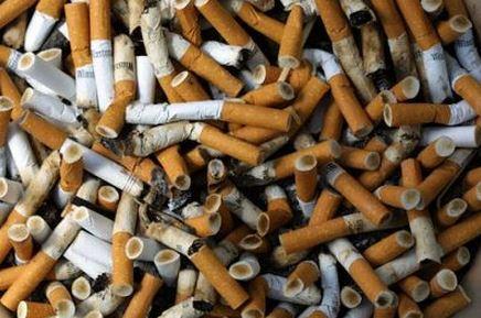 Sigarette con ammoniaca