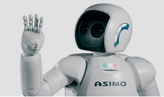 Robot Asimo la lingua dei segni