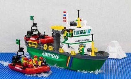 Greenpeace - Lego salva artico