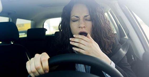 dormire al volante