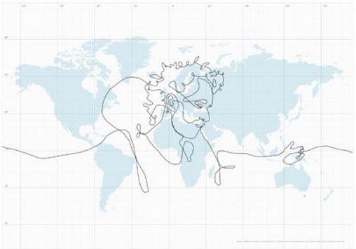 Disegno più grande del mondo è una bufala