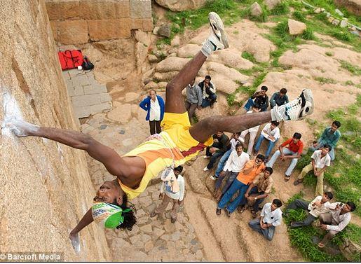 Jyoti Raj tra i migliori scalatori del mondo