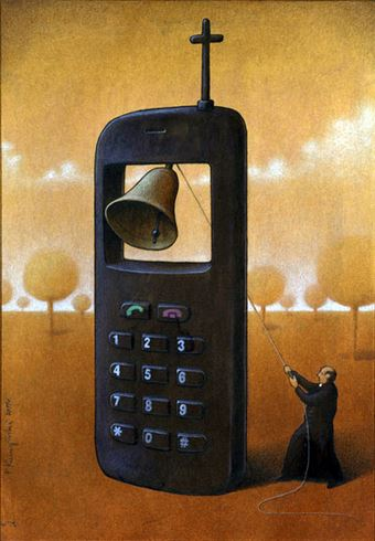 Pawel Kuczynski disegni satirici
