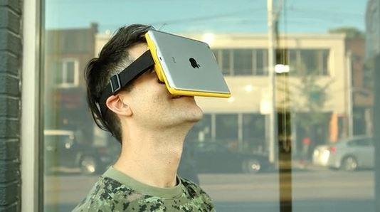 AirVR Ipad realtà virtuale