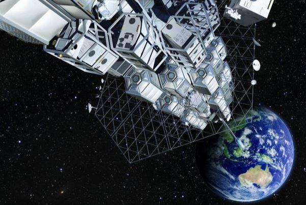 Ascensore spaziale evidenza