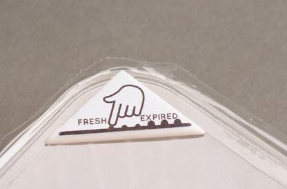 Bump Mark etichetta bio-reattiva scadenza cibo