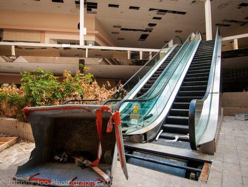 Centri commerciali abbandonati