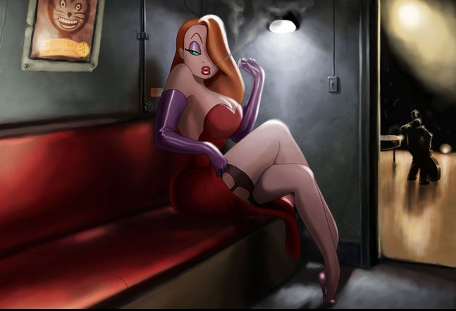 Jessica Rabbit obesa