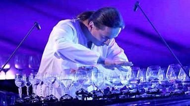 Petr Spatina arpa di vetro