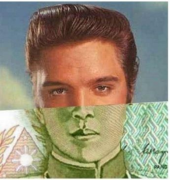 illusione con banconote