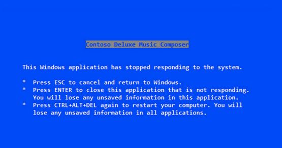 Steve Ballmer messaggio crash windows 3.1