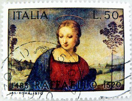 Francobollo - Giornata Mondiale della Posta