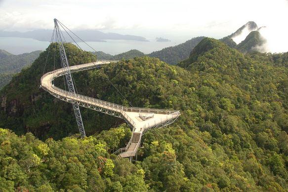 11) Langkawi Sky Bridge, Malaysia