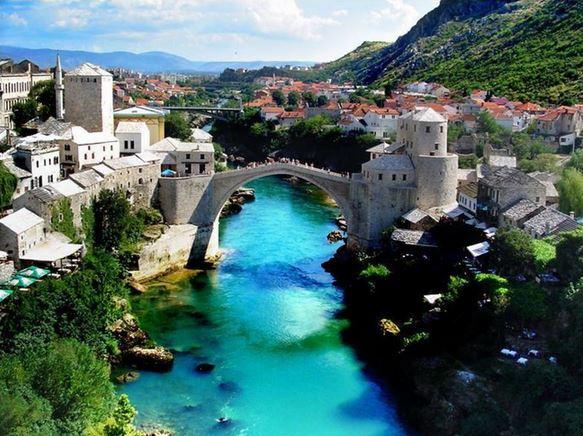 15) Stari Most, Mostar, Bosnia
